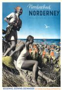 Vintage Travel Poster 1939 Norderney Germany
